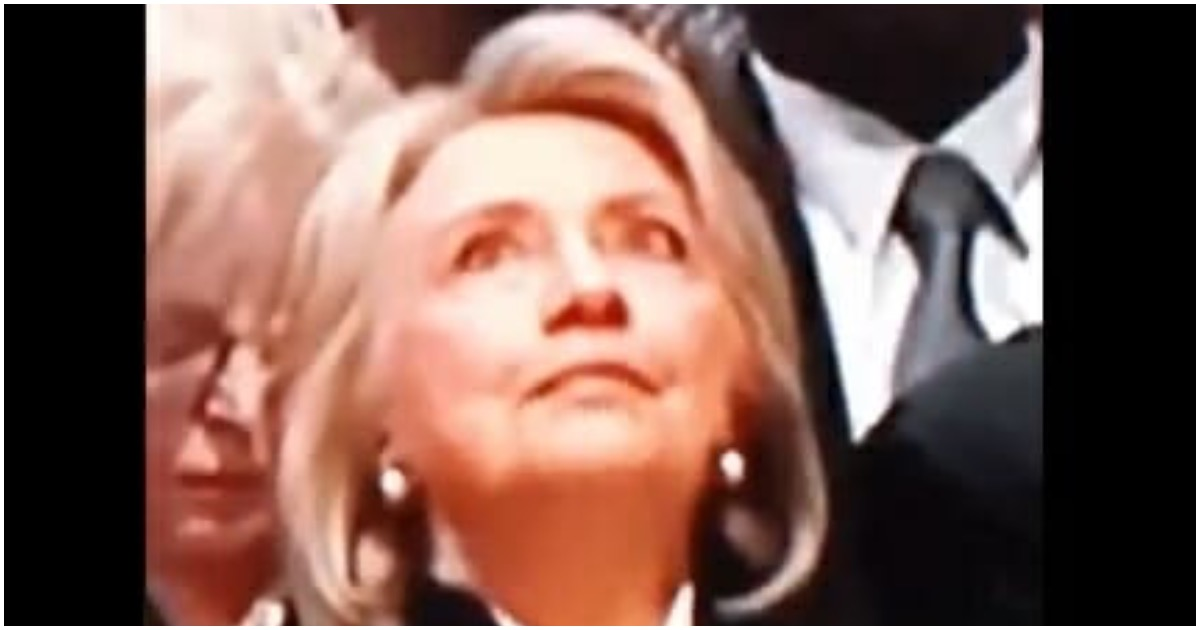 WATCH: Hillary Looks Lost At Bush Funeral, Eyes Roll Around Her Head