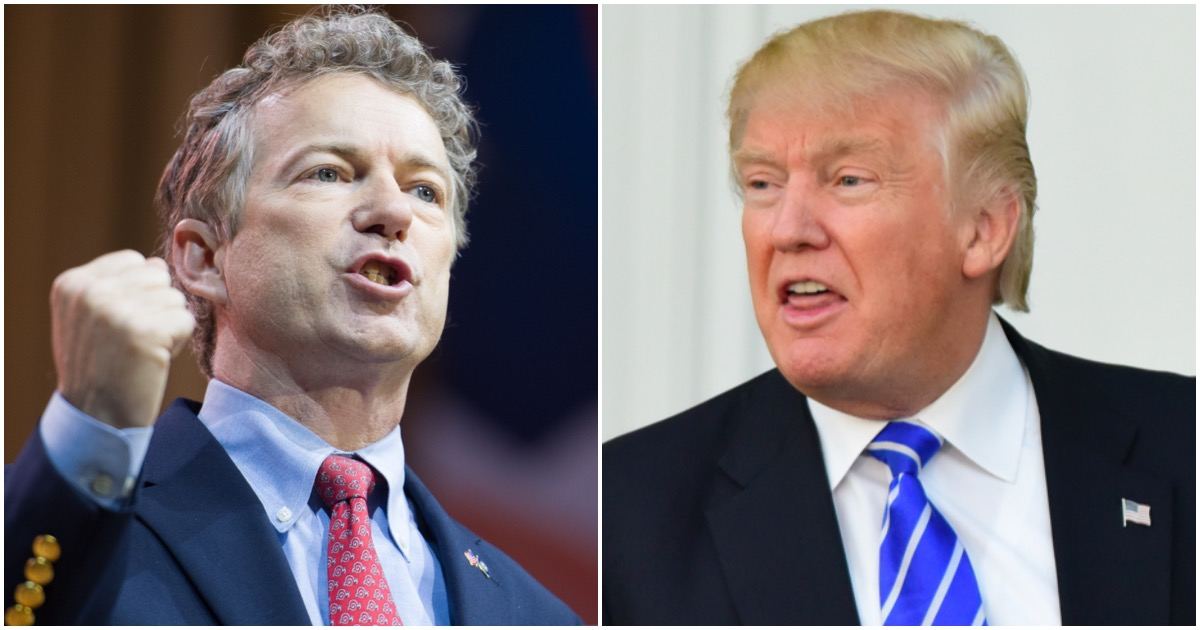 Rand Paul Spits On MAGA Agenda, Refuses to Vote 'Yes' to Confirm Trump's AG Nominee