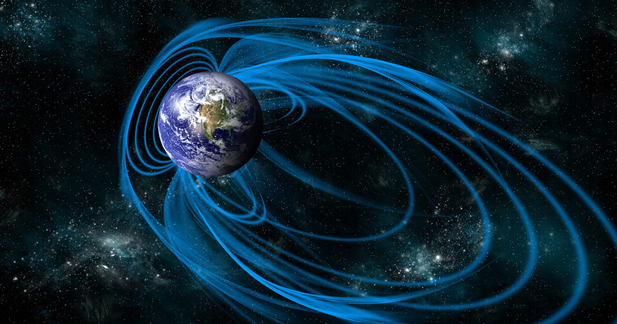 earth magnetic field science space