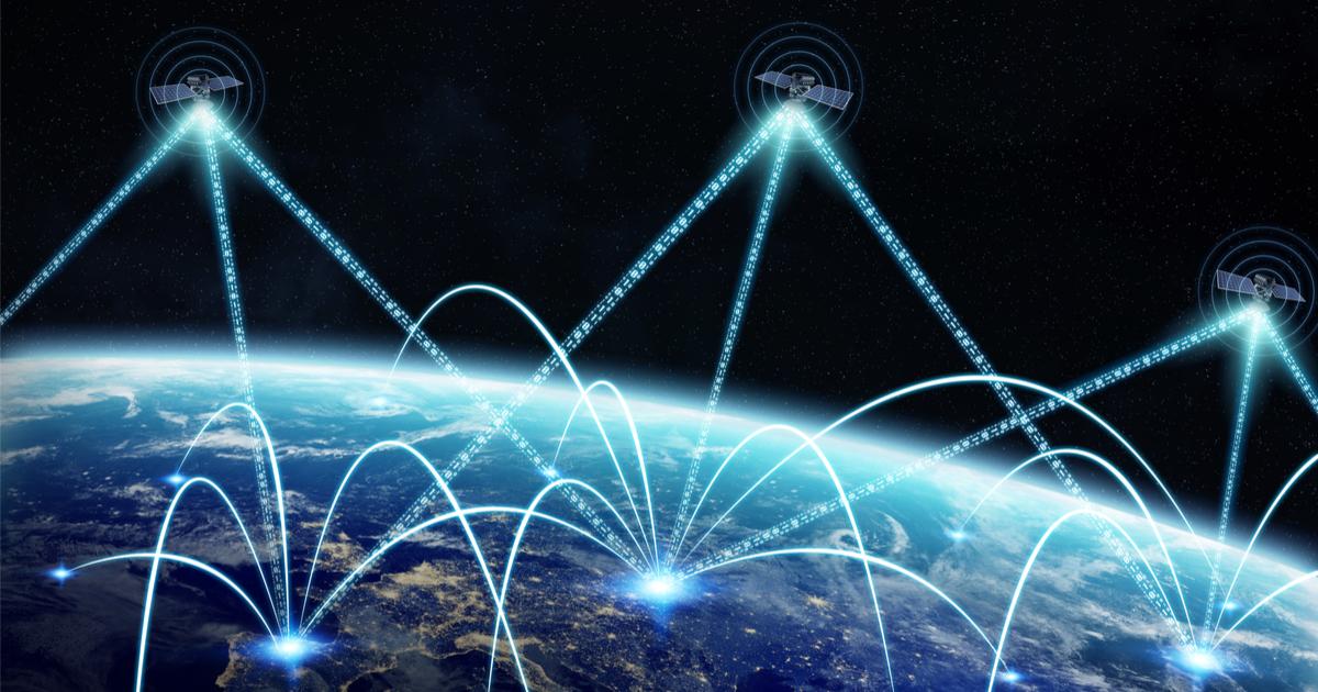 internet space satellite