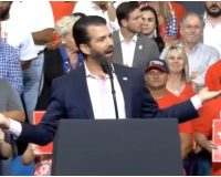 VIDEO: Trump Jr. Gets On Stage At Orlando Rally, Takes Direct Aim At 'Groping' Joe Biden