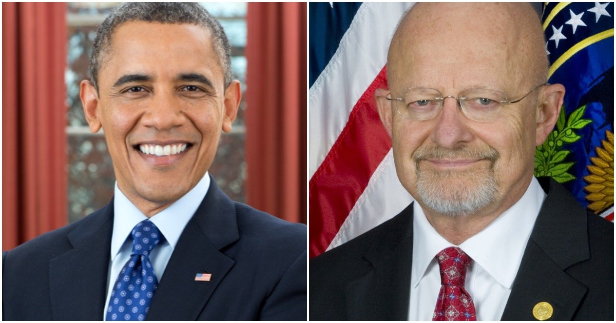 FLASHBACK: James Clapper Says Obama Ordered Trump-Russia Spy Operation (Watch)