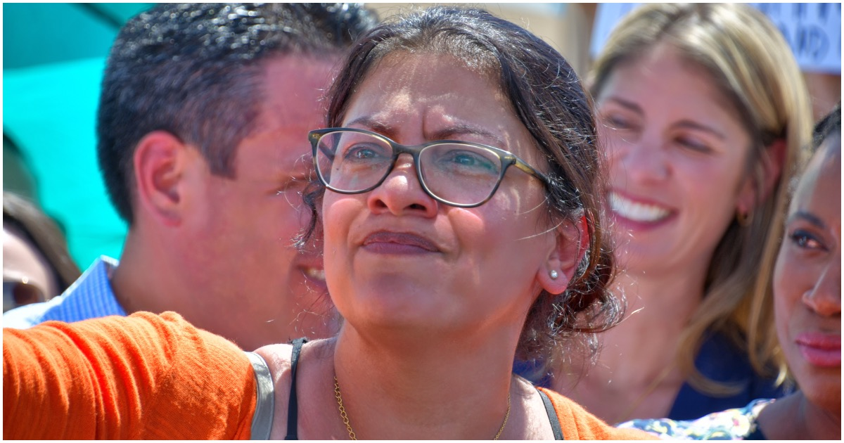 ICYMI: Tlaib Poses for Photos & Meets With Anti-Israel, Terror-Supporting Group - MSM Silent