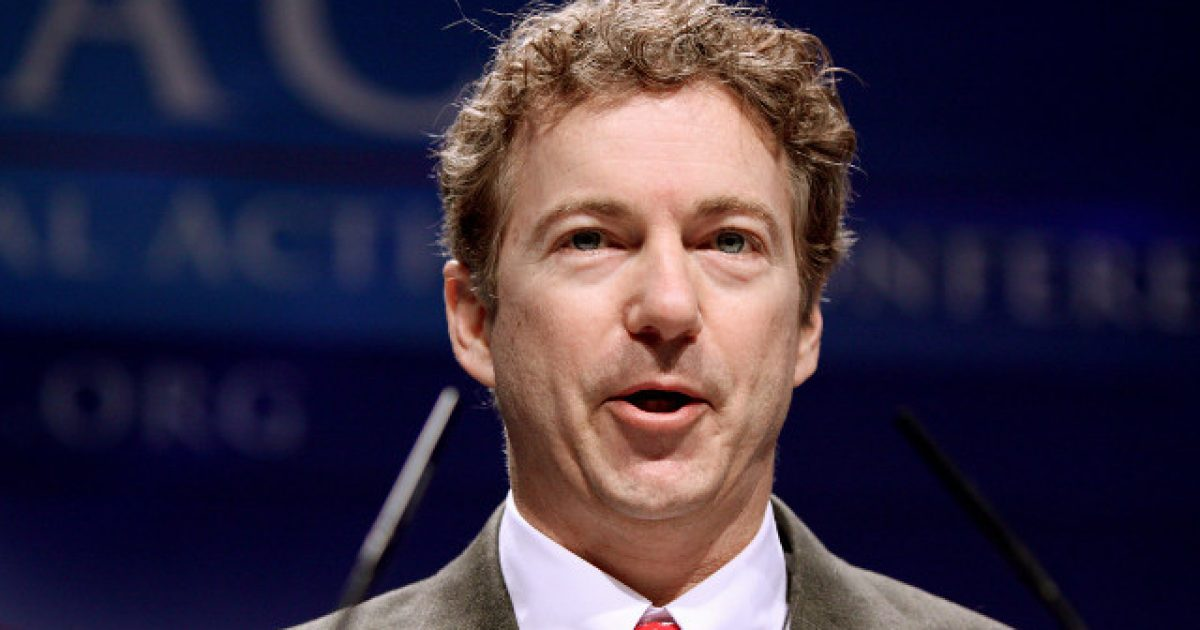 Rand Paul Not A Fan Of John Bolton, Accuses Him Of Working Against President's Agenda ⋆ The gloves are coming off. ⋆ Flag And Cross