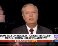 VIDEO: Lindsey Graham Says He's Not Watching Impeachment Hearings. 'This Couldn't Happen In A Parking Ticket Case.'
