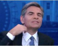 Stephanopoulos Makes 'Slit Throat' Gesture to Cut Off Trump Lawyer, Then Realizes He's Live On Air