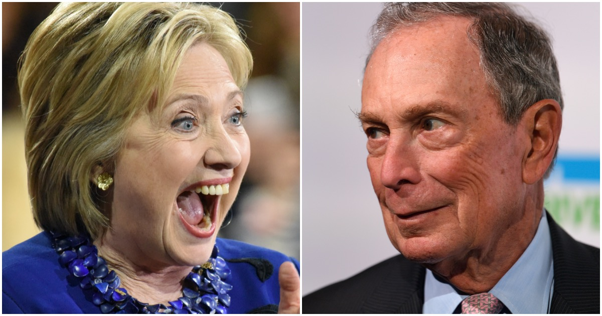 Former Clinton Adviser Says Bloomberg & Hillary Working to Make Her 2020 Dem Nominee