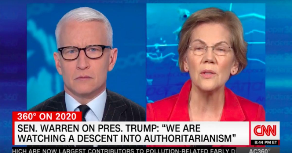 Elizabeth Warren Says AG Bill Barr Needs to Resign His Post Or Be Impeached ⋆ Flag And Cross