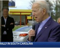 Flashback: Joe Biden Speaks to Crowd While In 'North South Carolina' — Video