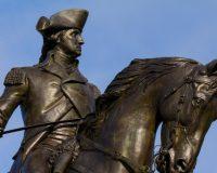 Democrat Senators Refuse To Comment On Removal Of George Washington Statues
