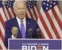Biden: '200 Million People' Will Be Dead From COVID By the Time I Finish This Speech [Watch]