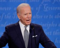 Biden Again Admits That He's 'Not Supposed To' Interact with Reporters
