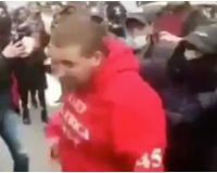 Protester Sucker Punches Trump Supporter, Then Winds Up Flat On His Back — WATCH