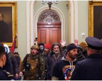 Confirmed: Previously Arrested BLM Rioter Dressed In Pro-Trump Gear to Storm Capitol