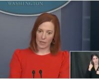 Psaki When Asked Why Joe Didn't Wear Mask After Signing EO: 'Bigger Issues to Worry About'