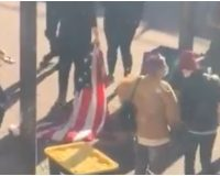 Video: Protesters Break Into City Hall, Rip Down American Flag – Mayor Escorted From Building