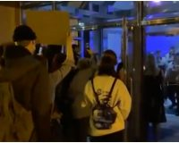 Violent Protesters Storm Into Columbus Police HQ & Pepper Spray Officer In the Face