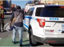 Black Lives Matter Activists Openly Harass NYPD Officers In Broad Daylight (Video)