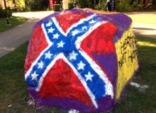 New York Court Tells Woman to Get Rid of Confederate Flag Garden Rock or Lose Her Daughter