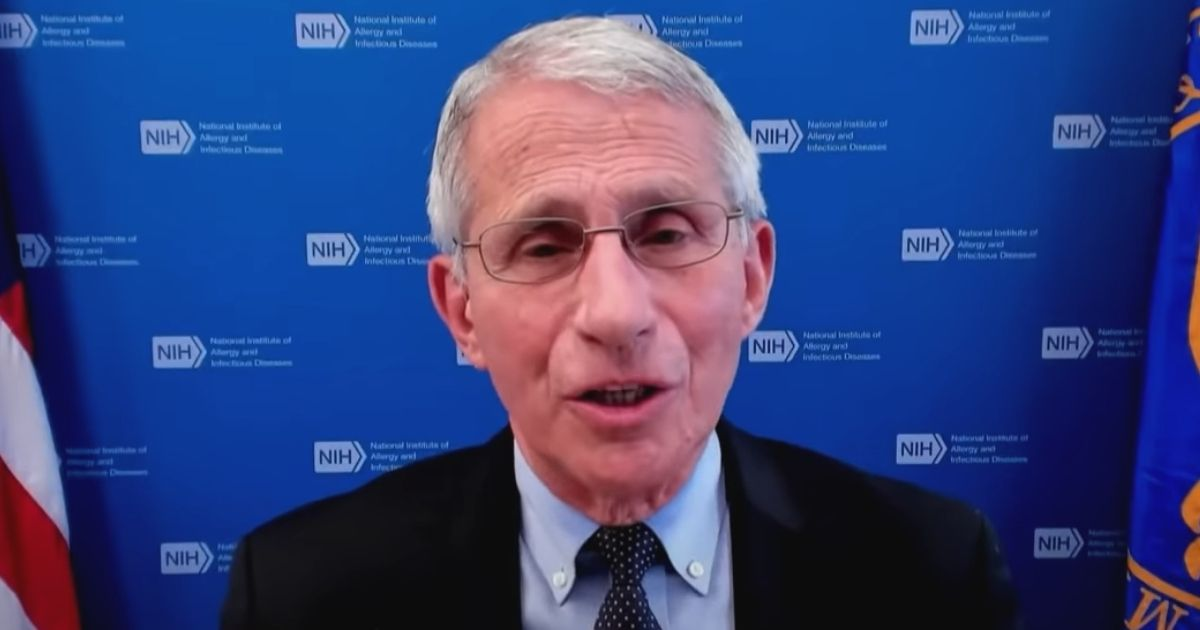 Dr. Fauci Doesn't Think Wearing a Mask is a 'Choice' Anymore