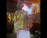 Bartender Uses Fake Receipt to Save Women from Being Hit on by 'Creep'