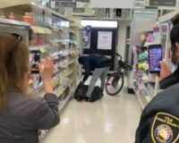 Security Guard, Workers Stand By as Man Shoplifts from Walgreens in San Francisco