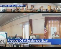 Cowardly Mayor Suspends Pledge of Allegiance Over Threats, So Citizens Rise in Unison and Sound Off