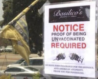California Restaurant Posts Sign Saying 'Zero Tolerance' for Coronavirus 'Gestapo'