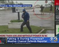 Journalist Suspended After Bystander Video Reveals She Covered Herself in Mud Before Reporting on Devastating Floods