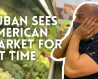 Pro-Cuba Libs Won't Want You to See This Video of an Island Native Walking Into a US Supermarket for First Time