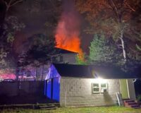 After Receiving Call About Blazing Attic Fire, Police Rescue Man Trapped Inside Smoke-Filled Bedroom