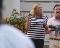 Missouri Gov Pardons St. Louis Couple Who Brandished Guns When BLM Stormed Neighborhood