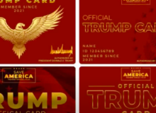 THE TRUMP CARD:  Don Wants Supporters to Carry MAGA Membership ID