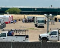 City Forced to Build Tent Compound to House COVID-Positive Immigrants Released by Biden Admin