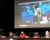 Graphic Warning: Horrified Crowd Shouts as Parent Shows School's Pedophilia Comics at Board Meeting