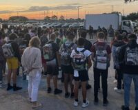 Thousands of High School Students Across the US Bow Their Heads to Pray in Unison