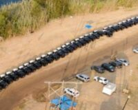 TX State Troopers Take Matters Into Their Own Hands, Create Barrier of Hundreds of SUVs to Protect Border
