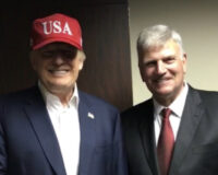 Franklin Graham Meets with President Trump Posts Viral Photo