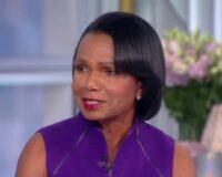 Asked About Jan. 6, Condoleezza Rice Tells 'The View' Co-Host Americans Have 'Other Concerns'