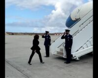 VP Harris Gets Out of Gas-Guzzling SUV and Onto Private Jet to Fly to Event on 'Climate Crisis'