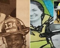 Black Ex-Firefighter Looking at $30,000 Payout from City After a Mural Artist Got Her Skin Tone Wrong