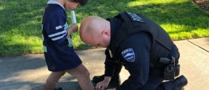 Boy Spotted Running Around Park in Socks With a Bloody Foot. How Police Respond Will Melt Your Heart.